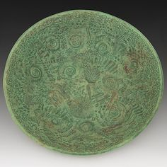 Fossil  Bowl by Valerie Seaberg: Ceramic Bowl- STUDIO SALE available at www.artfulhome.com