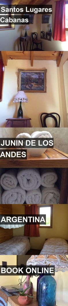 Hotel Santos Lugares Cabanas in Junin de los Andes, Argentina. For more information, photos, reviews and best prices please follow the link. #Argentina #JunindelosAndes #travel #vacation #hotel