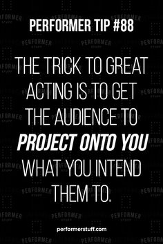 You want the audience to give back to you what you are giving to them. Acting Quotes, Acting Tips, Acting Career, Film Quotes, Acting Monologues, Acting Exercises, Music Documentaries, Becoming An Actress, Singing Tips