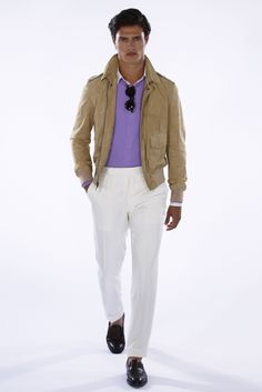 Ralph Lauren Purple Label Men's RTW Spring 2016