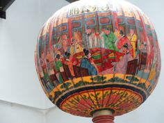Lantern at Baba House,  Singapore. There is something magical about lanterns, especially Far Eastern ones.