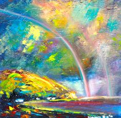 Over The Rainbow by HelenBlairFineArt on Etsy