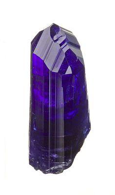 Tanzanite crystal / Merelani Mines, Arusha, Tanzania