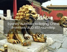 Sydney, Australia to Beijing, China from only AUD 457 roundtrip