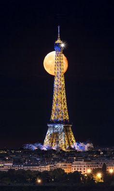 Big Moon at Paris July 2014