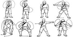 Eight Section Brocade Chi Kung, Ba Duan Jin Qigong, Eight Treasures Exercise Routine from China