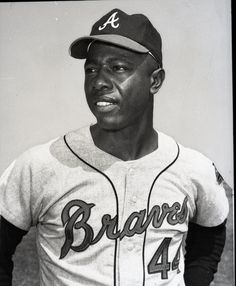 Henry (Hank) Aaron - the home run king (forget Bonds, he was juiced). A living legend.