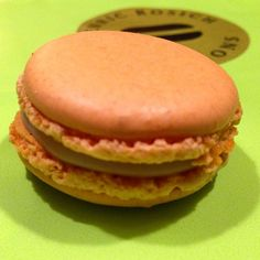 De crema catalana #macarons
