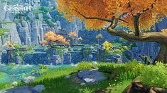 Fantasy Art Landscapes, Landscape Drawings, Landscape Illustration, Fantasy Landscape, Beautiful Landscapes, Disney Background, Animation Background, Environment Concept Art, Graphic Design Projects