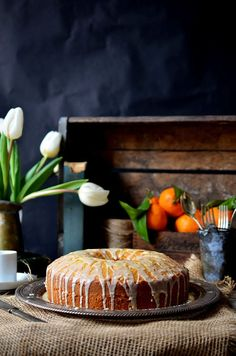 Tangerine Olive Oil Cake with Pasolivo Olive Oil