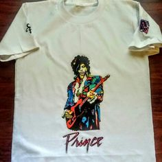 Prince the Purple Guy Grab your Prince Tee today. One of the greatest of our generation Tops Tees - Short Sleeve