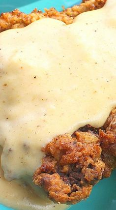 Country Fried Chicken Steak with Sawmill Gravy