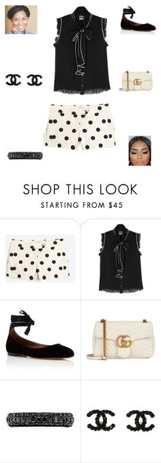 """""""Preppy Girl"""" by irockcrowns ❤ liked on Polyvore featuring Boutique Moschino, Tabitha Simmons, Gucci and Effy Jewelry"""