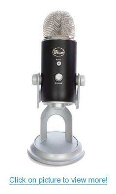 Blue Microphones Yeti USB Microphone - Premium Black Edition #Blue #Microphones #Yeti #USB #Microphone #Premium #Black #Edition