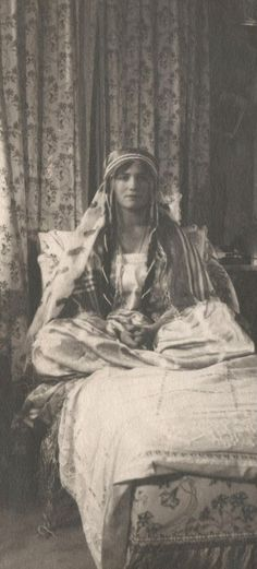 A rare photo of Maria Romanov, one of the younger daughters of Tsar Nicholas II.
