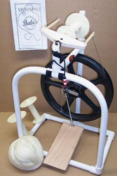 Babe's Pinkie Spinning Wheel. I pack mine up and take it along on vacation. It spins as well as my Kromski wheel.