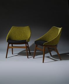 Gerhard Berg; 'Norse' Chairs, 1950s.