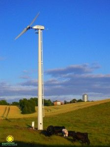 The pros and cons of agricultural wind turbines