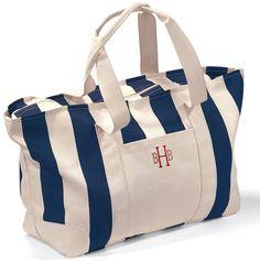 Monogram Stripe Weekender Duffle Bag Luggage Bags 83a3c3233ea71