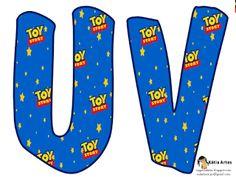 Alfabeto del logo de Toy Story.   Oh my Alfabetos!