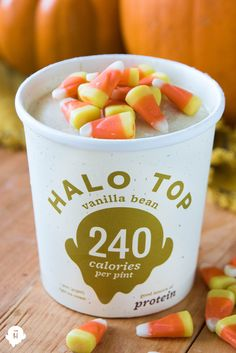 The only thing scary this Halloween is running out of Halo Top. Happy Halloween!