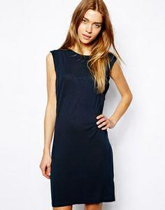 Image 1 ofVila Drape Back Dress