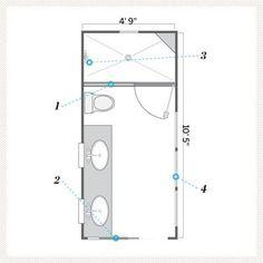 95 Best Small Bathroom Floor Plans Images Bathroom Floor