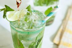 Cucumber Refresher by Skinnygirl Cocktails Ingredients: 4 mint ...