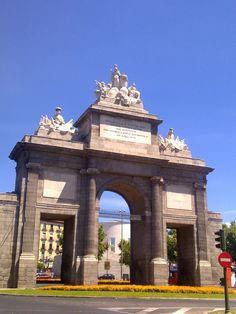 Puerta de Toledo, Madrid.