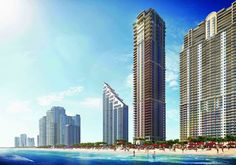 """Transactions are underway at the Mansions at Acqualina, which marks the 37th new condominium tower to be completed in South Florida since 2011. Check out our #MetroBlog  for photos of the stunning """"mansions-in-the-sky""""! #miamirealestate   #sunnyislesbeach   #southflorida   #mansionsatacqualina   #luxuryrealestate   #condosforsale"""