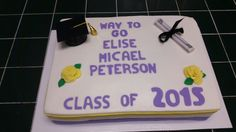 Graduation Cake - Amy's Crazy Cakes
