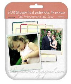 Free polaroid frames