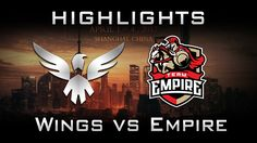Wings vs Empire DAC 2017 Highlights Dota 2