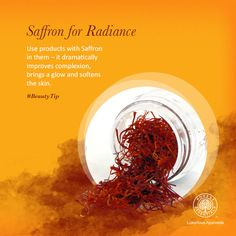 Whatever the question, Saffron is the answer!