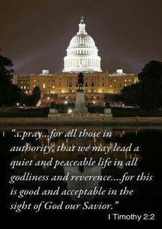 Pray every day for our country and our leaders to be people of God, who allow HIS WILL to be done Prayers For America, 40 Days Of Prayer, 1 Timothy 2, San Roman, Pray For Us, Pray For Trump, Prayer Quotes, Bible Quotes, Godly Quotes