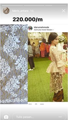 Kebaya Lace, Kebaya Hijab, Kebaya Brokat, Batik Kebaya, Dress Brokat, Kebaya Muslim, Batik Dress, Kebaya Modern Dress, Model Kebaya