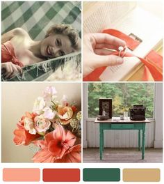 {Guest Post} Postcards & Pretties: Dreamy Summer Wedding Color Palette - Oh Lovely Day