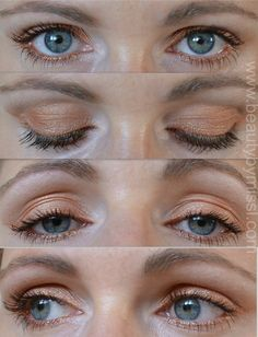 light bronze eye makeup