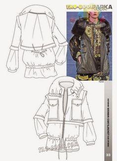 modelist kitapları: Coat Scetchbook