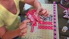 How To Make A Stacked Layered Hair Bow Crafts For Kids, Arts And Crafts, Big Hair Bows, Toddler Bows, Bow Accessories, Layered Hair, How To Make Bows, Baby Headbands, Making Ideas