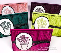 Linda Vich Creates: Crafting Forever on Marbled Background. The In Colors are featured in this card set that uses Marbled and Crafting Forever. School Art Supplies, Marble Board, Stampin Up Cards, Card Ideas, Birthday Cards, Stencils, Card Making, Create, Card Crafts