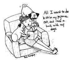 looks familiar too!Bah Humpug: All I Want To Do be with my pugs! Funny Dogs, Cute Dogs, Funny Animals, Cute Animals, Pug Illustration, Pug Names, Pug Cartoon, Pugs And Kisses, Black Pug
