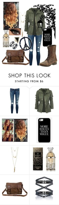 """""""Into the wild"""" by cutesurfer18 ❤ liked on Polyvore featuring rag & bone/JEAN, Charlotte Russe, Lipsy, Honour, Steve Madden, VIPARO, Eva Fehren, House of Harlow 1960, women's clothing and women's fashion"""