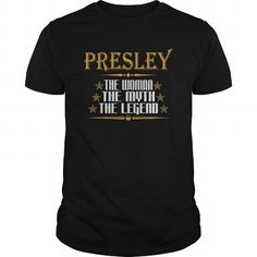 I Love  PRESLEY THE WOMAN THE MYTH THE LEGEND T-SHIRTS Shirts & Tees