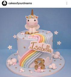 Birthday Cake Girls, First Birthday Cakes, Winter Torte, Little Pony Cake, Baby Girl Cakes, Butterfly Cakes, Cupcakes, Buttercream Cake, Love Cake