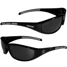 Oakland Raiders NFL Wrap Sunglasses