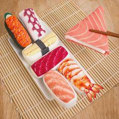 Sushi Socks from Firebox.com