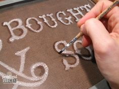 Adding Shadows to Window Screen Text | Prodigal Pieces | www.prodigalpieces.com