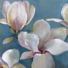 Portfolio Canvas Magnolia I Painting Print on Wrapped Canvas