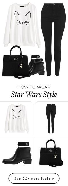 """Untitled #1667"" by blossomfade on Polyvore featuring Topshop and Loungefly"